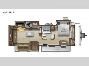 Mesa Ridge MR323RLS Floorplan Image