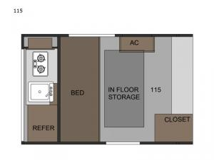 Sunray 115 Floorplan Image