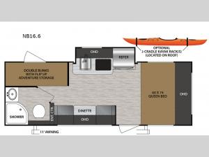 No Boundaries NB16.6 Floorplan Image