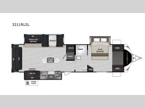 Kodiak Ultimate 3211RLSL Floorplan Image