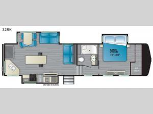 ElkRidge 32RK Floorplan Image