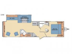 Revere 31RE Floorplan Image