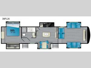 ElkRidge 38FLIK Floorplan Image