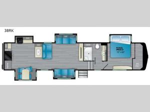 ElkRidge 38RK Floorplan Image