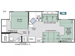 Chateau 27R Floorplan Image