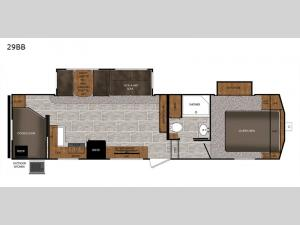 Crusader LITE 29BB Floorplan Image