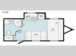 Hike H170S Floorplan Image