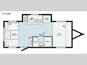 Hike H171DB Floorplan Image