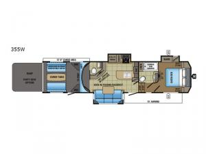Seismic Wave 355W Floorplan Image