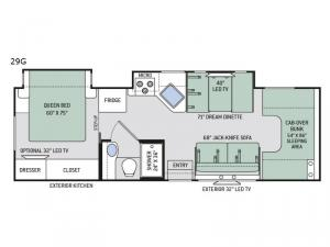 Chateau 29G Floorplan Image