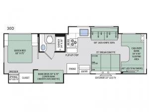 Chateau 30D Floorplan Image