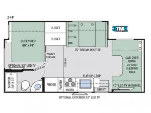 Chateau 24F Chevy Floorplan Image