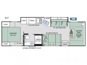 Chateau 31Y Floorplan Image