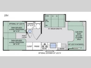 Chateau 25V Floorplan Image