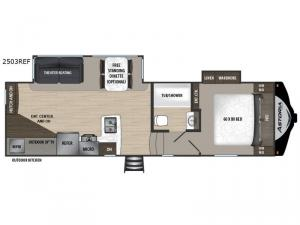 Astoria 2503REF Floorplan Image