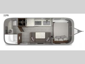 Caravel 22FB Floorplan Image