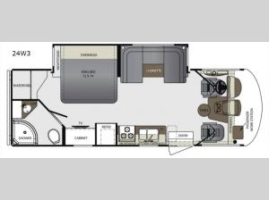 Georgetown 3 Series 24W3 Floorplan Image