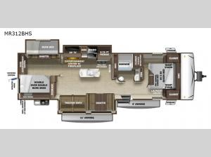 Mesa Ridge Limited MR312BHS Floorplan Image