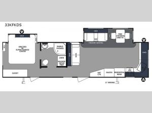 Surveyor 33KFKDS Floorplan Image