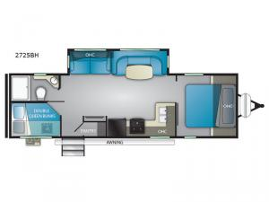 Wilderness 2725BH Floorplan Image