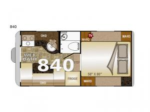 Wolf Creek 840 Floorplan Image