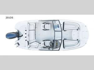 Stingray 201DS Floorplan Image