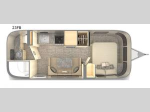 Flying Cloud 23FB Floorplan Image