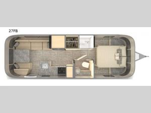 Flying Cloud 27FB Floorplan Image