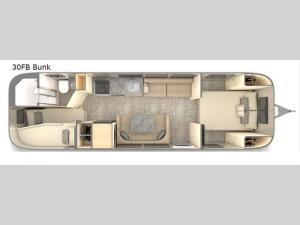 Flying Cloud 30FB Bunk Floorplan Image
