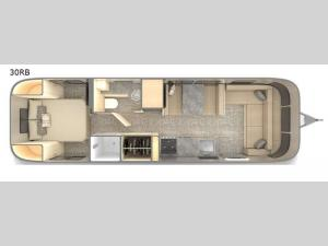 Flying Cloud 30RB Floorplan Image