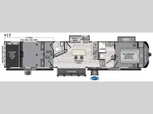 Raptor 415 Floorplan Image