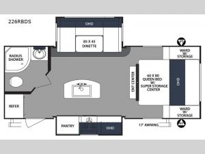 Surveyor 226RBDS Floorplan Image