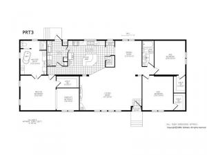 Double Section PRT 3 Floorplan Image
