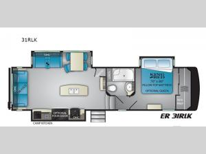 ElkRidge 31RLK Floorplan Image