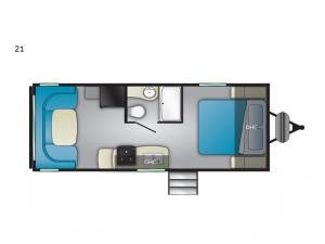 Trail Runner SLE 21 Floorplan Image