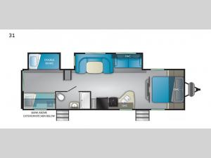 Trail Runner SLE 31 Floorplan Image