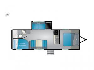 Trail Runner SLE 261 Floorplan Image