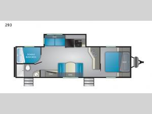 Trail Runner SLE 293 Floorplan Image