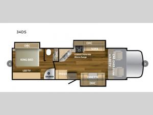 Ghost 34DS Floorplan Image