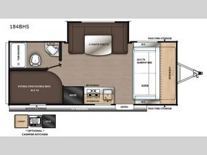 Catalina Summit Series 7 184BHS Floorplan Image