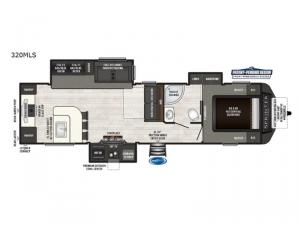 Sprinter 320MLS Floorplan Image