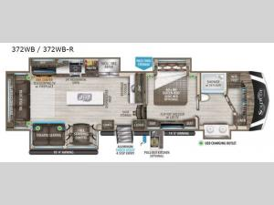 Solitude 372WB R Floorplan Image