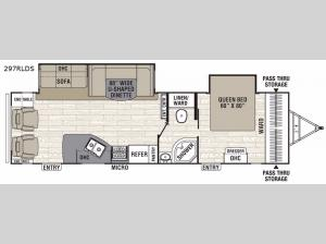 Patriot Edition 297RLDSLE Floorplan Image