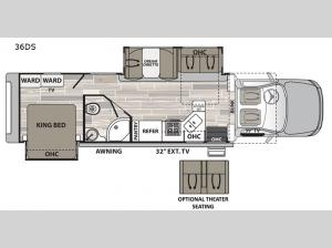 Isata 5 36DS Floorplan Image