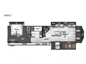 Salem Villa Series 393FLT Estate Floorplan Image
