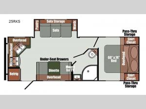 Gulf Breeze Limited Edition 25RKS Floorplan Image