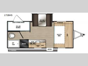 Catalina Summit Series 172BHS Floorplan Image
