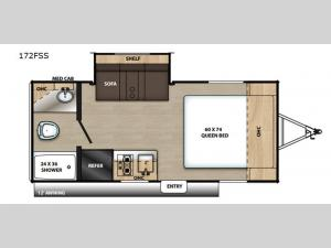 Catalina Summit Series 172FSS Floorplan Image