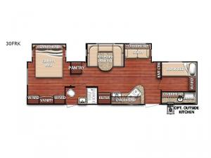 Conquest 30FRK Floorplan Image