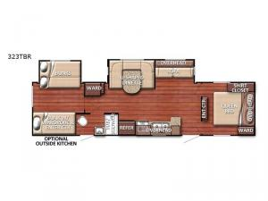 Conquest 323TBR Floorplan Image